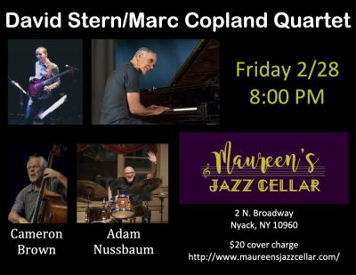 David Stern/marc Copland Quartet at Maureen's Jazz Cellar