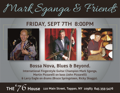 Late Summer Jazz & Blues At The '76! at The Old 76 House
