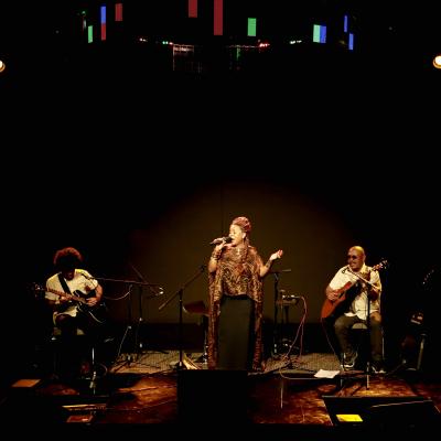 Toko Telo at Blue LLama Jazz Club