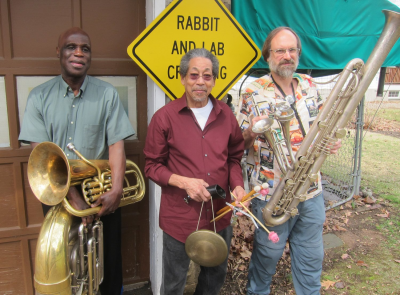 Joseph Daley Tuba Trio at Bop Shop Records