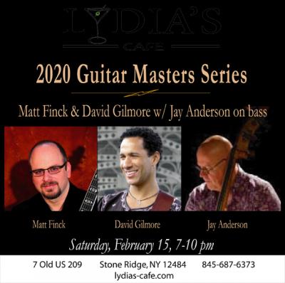 Guitars Masters Series at Lydia's Cafe