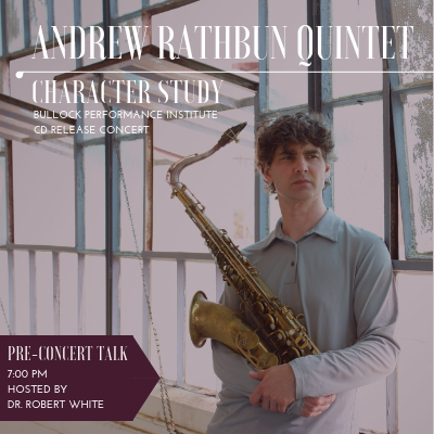 The Andrew Rathbun Quintet - Cd Release Event at Dalton Center Recital Hall