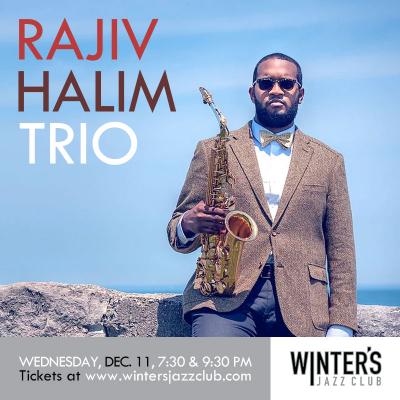 Rajiv Halim Trio at Winter's Jazz Club