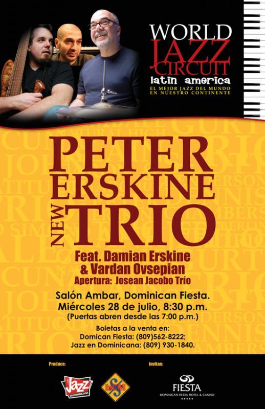 Jazz en Dominicana interviews Peter Erskine