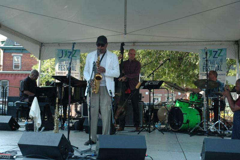 Sonny Fortune at Lancaster Avenue Jazz Festival, Philadelphia