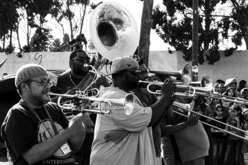 Hot 8 Brass Band at Mawazine Festival 2014