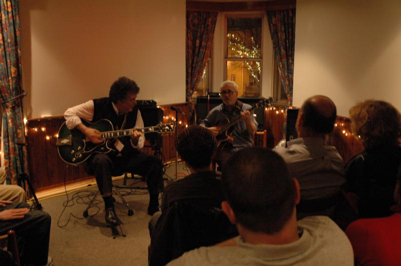 Chuck Anderson/Jimmy Bruno: Philadelphia, January 15, 2011