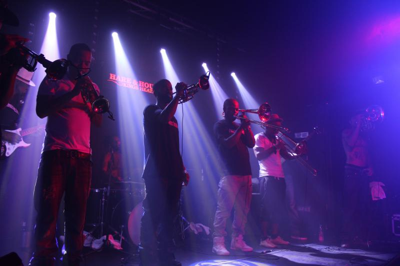 Live From Birmingham: Hypnotic Brass Ensemble, Erja Lyytinnen & The Impossible Gentlemen
