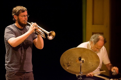 A Daring Jazz Duet, Wooley/Pytton On Tour From NY & UK at New School Of Music