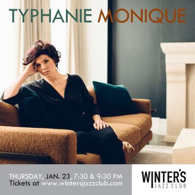 Typhanie Monique Trio at Winter's Jazz Club