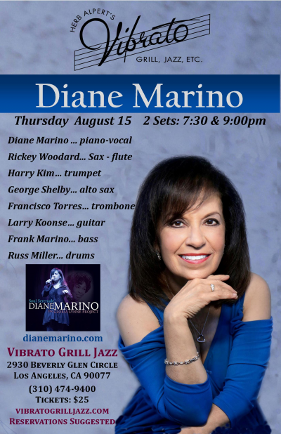 Diane Marino & Friends  at Vibrato Grill Jazz