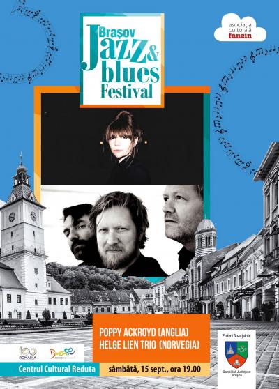 Poppy Ackroyd (uk) & Helge Lien Trio (no) at Brasov Jazz & Blues Festival at Centrul Cultural Reduta