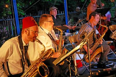 Pd9 Sun Ra Band at Blue LLama Jazz Club