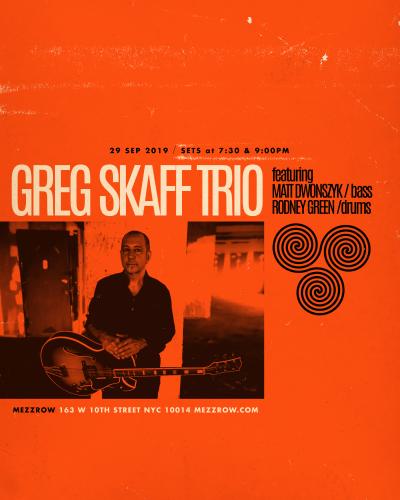 Greg Skaff Trio at Mezzrow Jazz Club