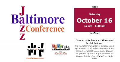 Baltimore Jazz Conference 2021 at BJA Virtual Conference