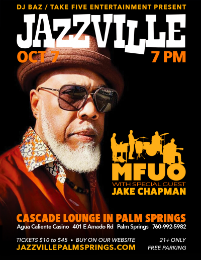 Mfuo - Jacques Lesure Quintet at Jazzville At Agua Caliente Casino