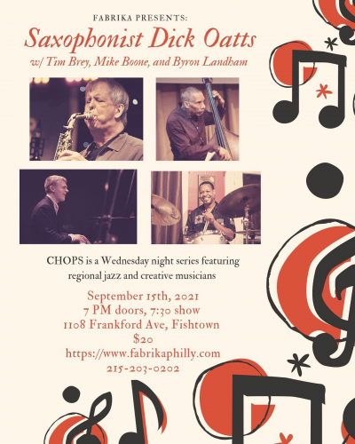 CHOPS with Dick Oatts at Fabrika