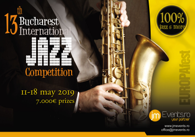 Bucharest International Jazz Competition 2019 at Europafest - Jazz, Blues, Pop, Classic at Cinemapro