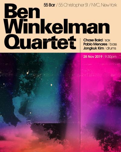 Ben Winkelman Quartet at 55 Bar