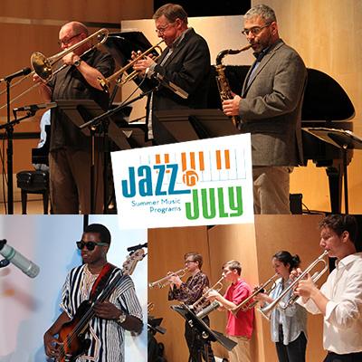 Jazz In July Jazz Improvisation Program at Jazz in July Concert Series at UMASS Fine Arts Center