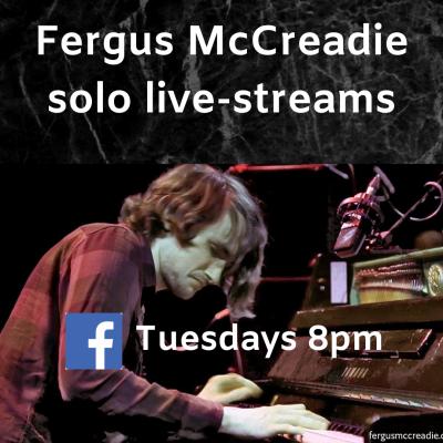 Fergus Mccreadie - Solo Improvisations at Fergus Mccreadie's House