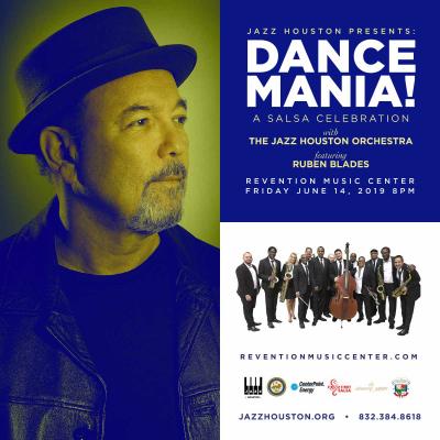Jazz Houston Orchestra Presents Dance Mania!  A Salsa Celebration W Ruben Blades at Revention Music Center