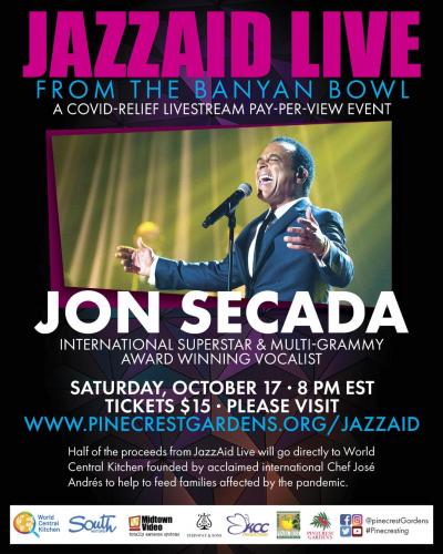 Jon Secada at Jazzaid Live Series (online) at Online Event