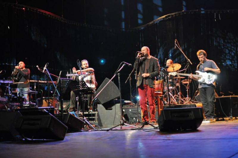 Rabih Abou Khalil and Penelope X at the Bitola World Music Festival 2013