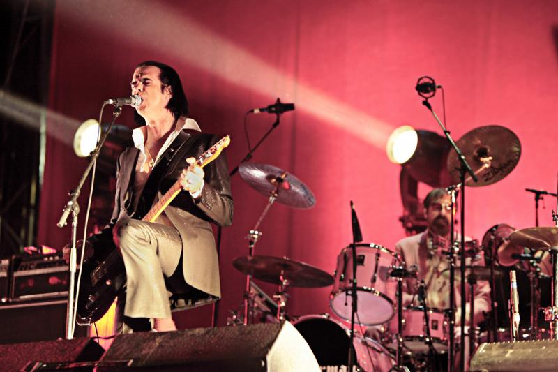 Grinderman: Novi Sad, Serbia, July 10, 2011