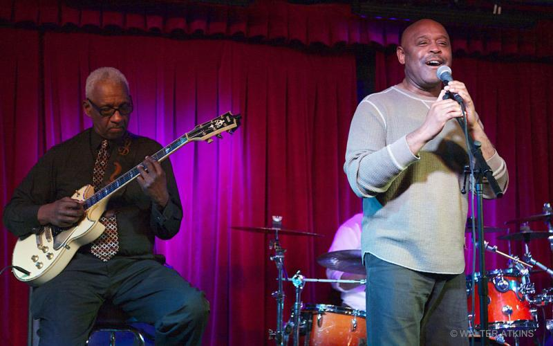 Lloyd Gregory And Tony Lindsay at Biscuits & Blues