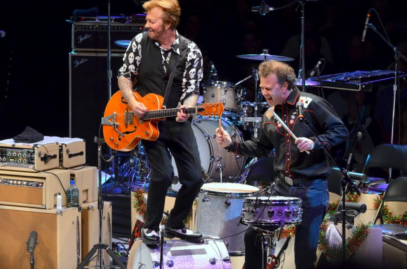 The Brian Setzer Orchestra Christmas Rocks! Extravaganza with the Record Company at the NYCB Theatre at Westbury