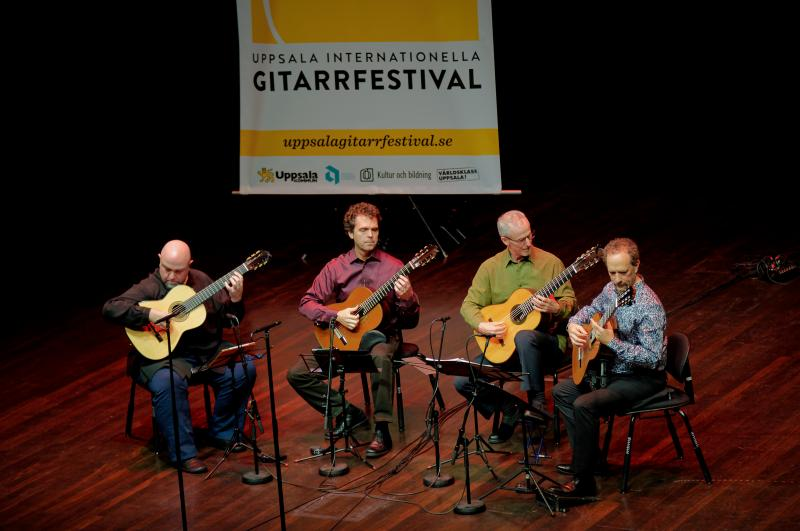 Los Angeles Guitar Quartet's European Debut of Pat Metheny Commission Highlights Uppsala International Guitar Festival