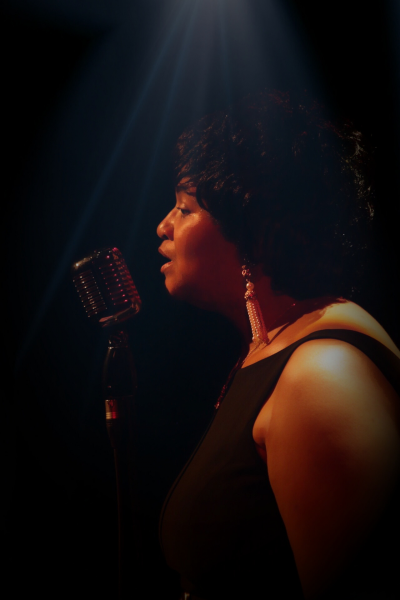 Yvette Norwood-tiger at Olympia Theater