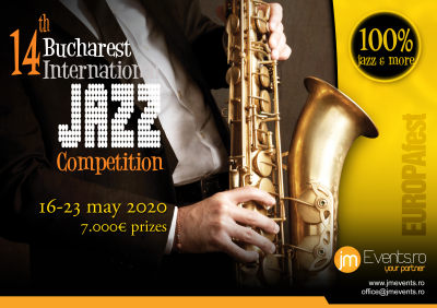 14th Bucharest International Jazz Competition 2020 at EUROPAfest at Odeon Theatre