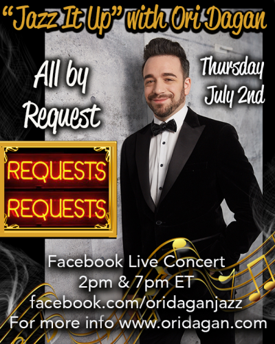 Jazz It Up - All By Request- Late Show at Facebook Live