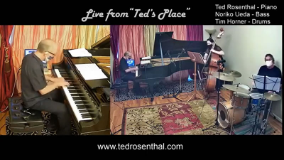 Ted Rosenthal Trio at Ted's Place