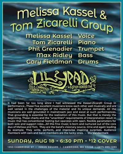 Melissa Kassel & Tom Zicarelli Group at Lilypad