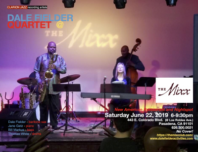 Dale Fielder Quartet at The Mixx