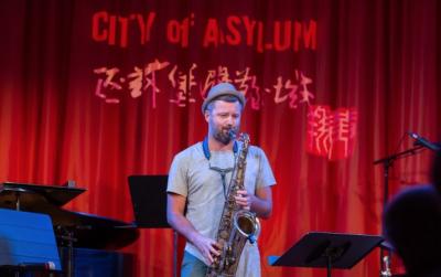Jazz Poetry Month: Jure Pukl Quartet at City Of Asylum's Jazz Poetry Month at City Of Asylum @ Alphabet City