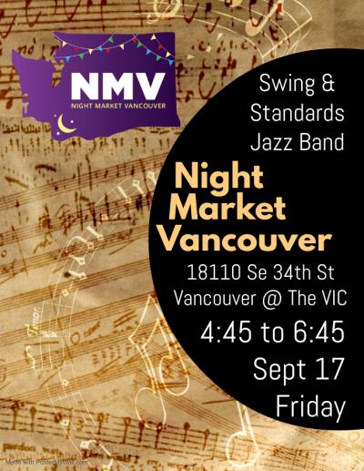 Swing & Standards Jb Night Market Vancouver at Night Market Vancouver