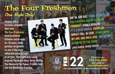 The Four Freshmen at El Portal Theatre