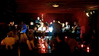 The Eddie Allen Aggregation Big Band at Zinc Bar