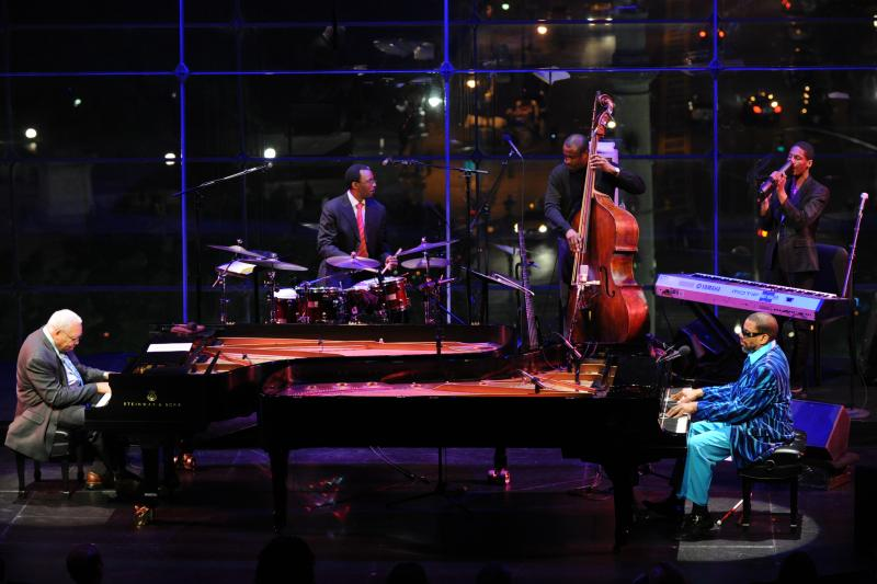 Ellis Marsalis, Henry Butler, Jonathan Batiste:  New York, May 11, 2012