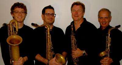 Filadelfia Saxofone Fourtet at Ocean City Free Public Library