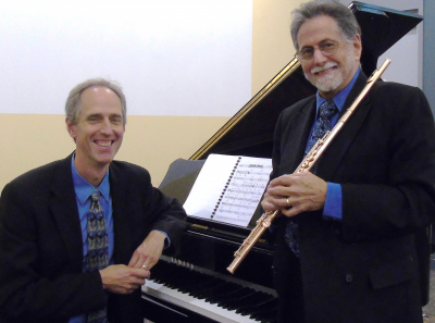 Bloom/Funkhouser Duo at Amherst Town Library