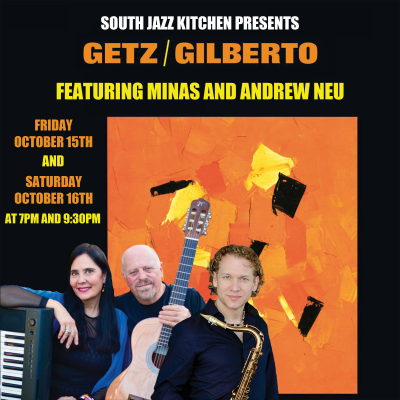 Minas Revisits Getz/gilberto at South Jazz Club