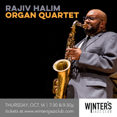 Rajiv Halim Quartet at Winter's Jazz Club