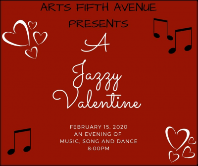 A Jazzy Valentine-with a Twist  at Arts Fifth Avenue