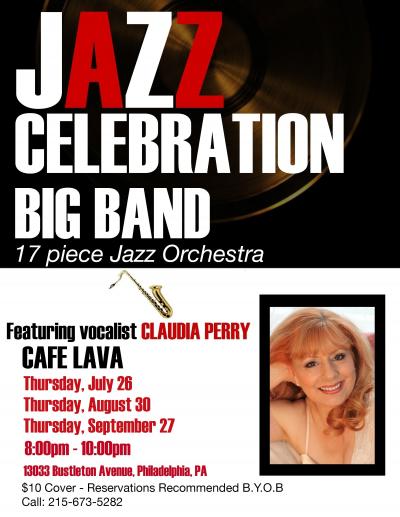 Jazz Celebration Big Band at Cafe Lava