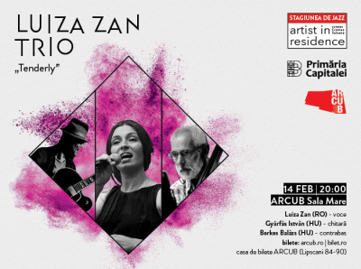 Luiza Zan Trio at Arcub Hall